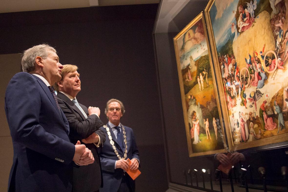 Výstava Vize génia