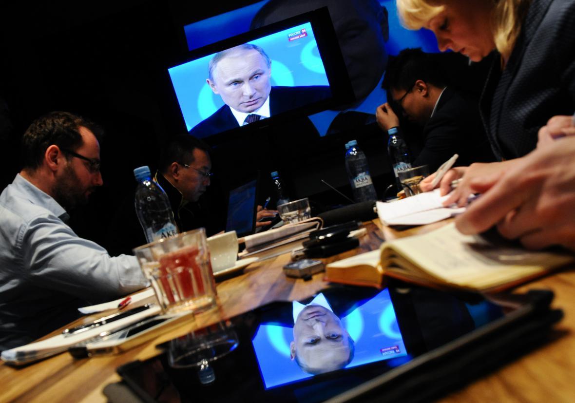 Ruští novináři
