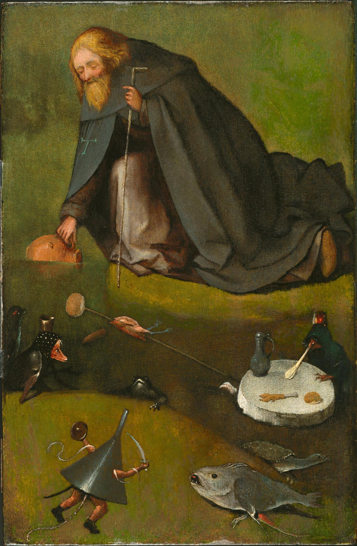 Pokušení svatého Antonína
