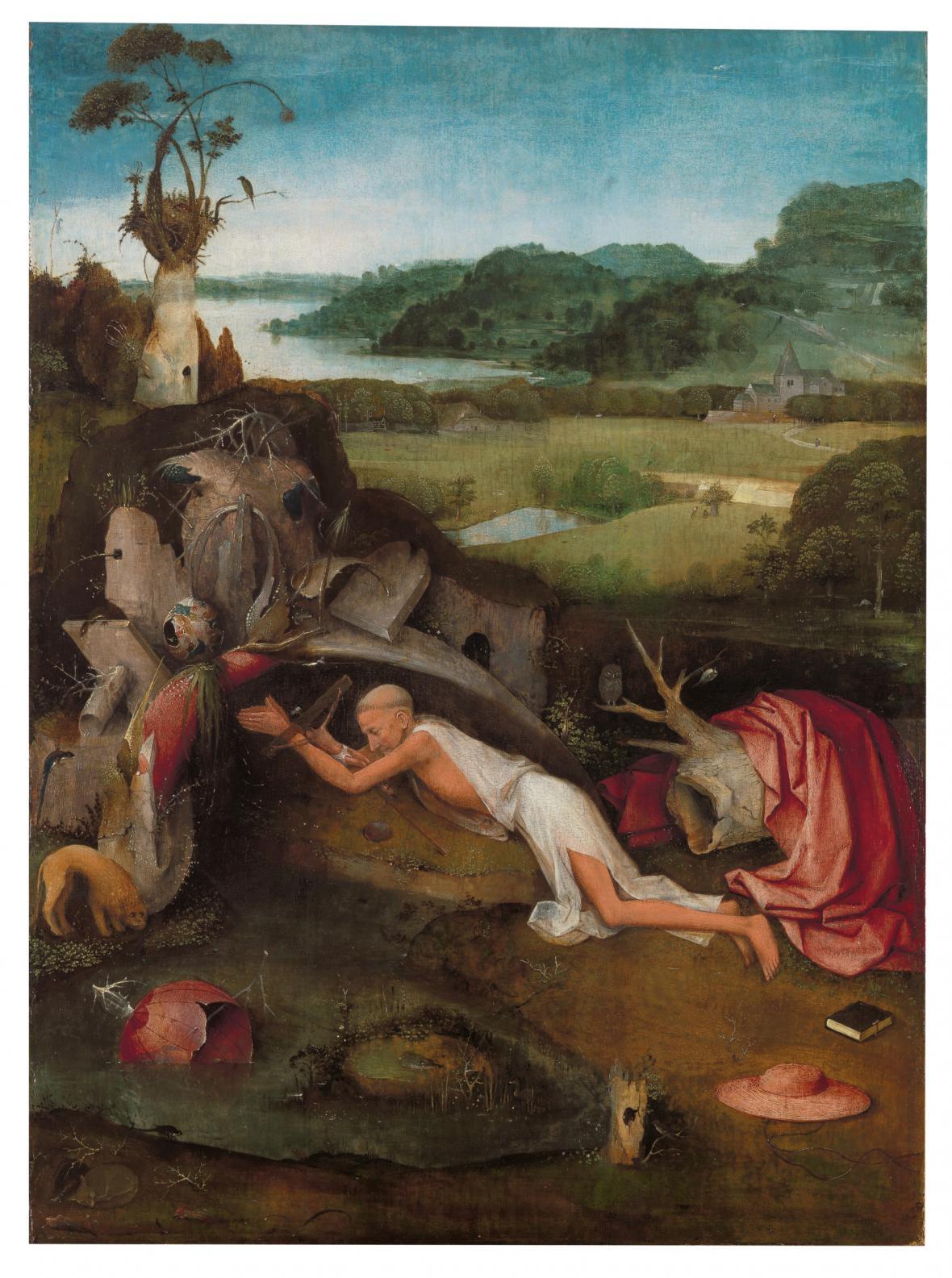Svatý Jeroným v pustině