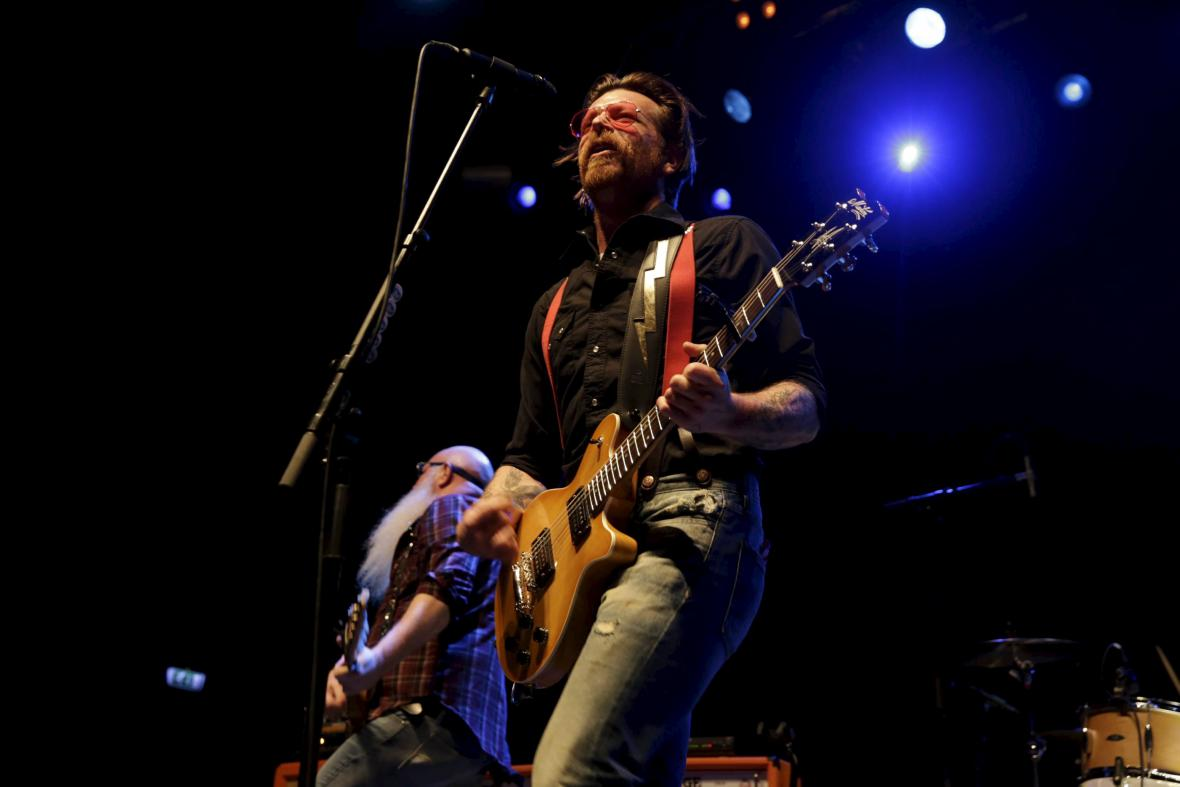 Eagles of Death Metal na koncertě v Oslu