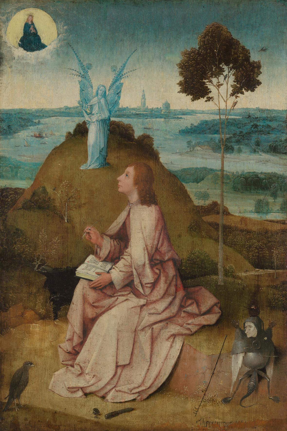 Svatý Jan na ostrově Patmos