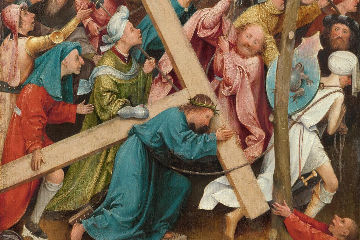 Nesení kříže (detail)