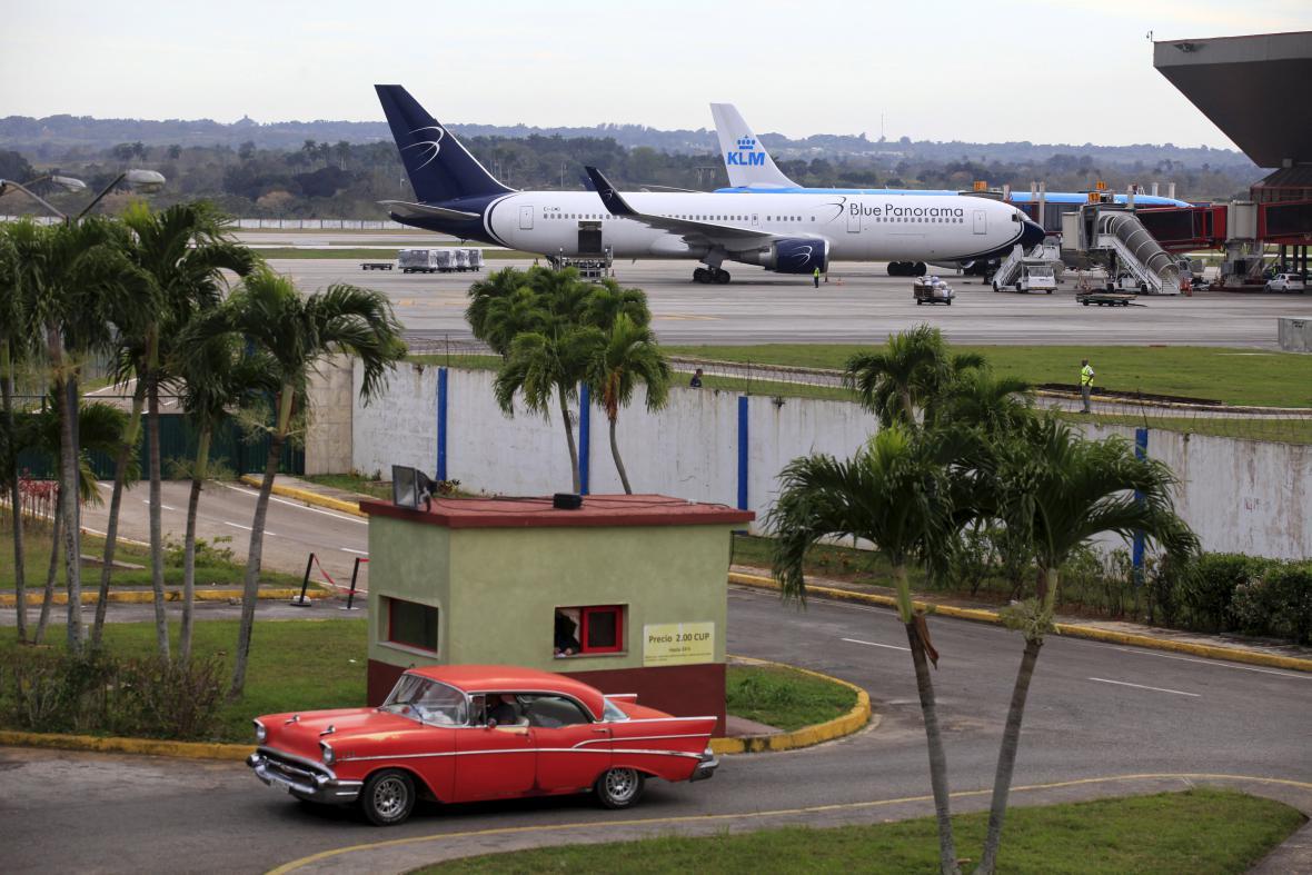 Havanské letiště Josého Martího