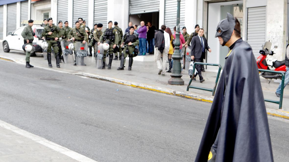 Batman a řecká policie