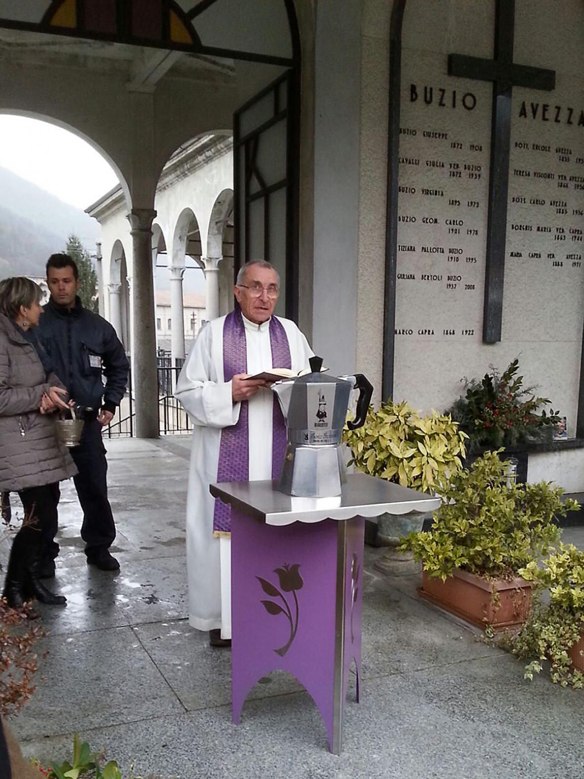 Pohřeb Renata Bialettiho