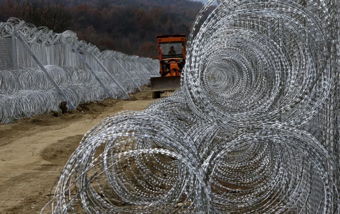 Plot na makedonsko-řecké hranici
