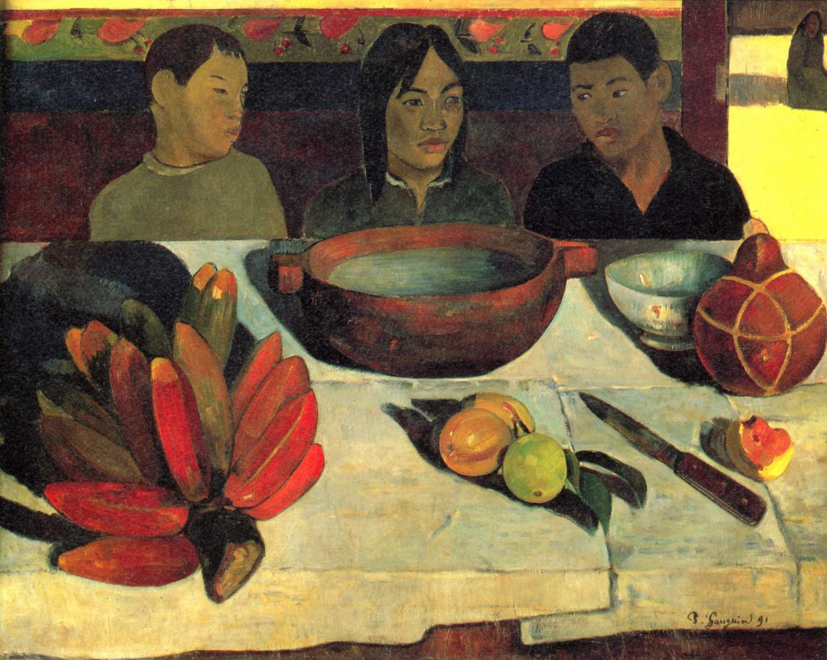 Paul Gaugin / Le repas (Jídlo)