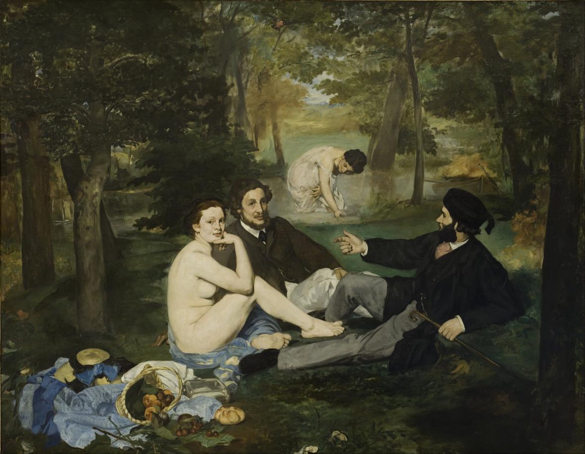 Edouard Manet / Snídaně v trávě