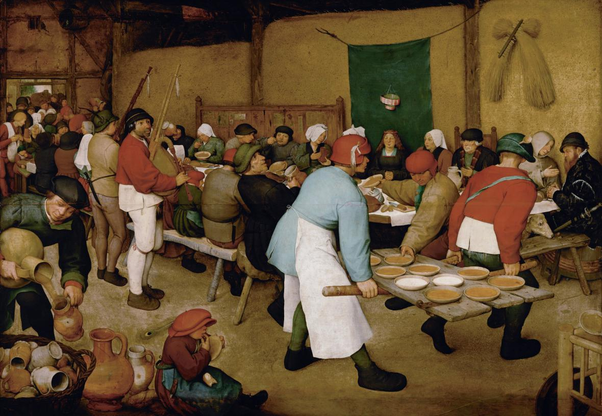 Pieter Bruegel starší / Peasant Wedding