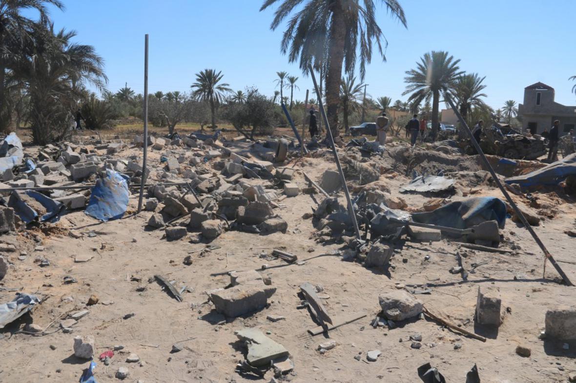 Americký nálet na IS v Libyi