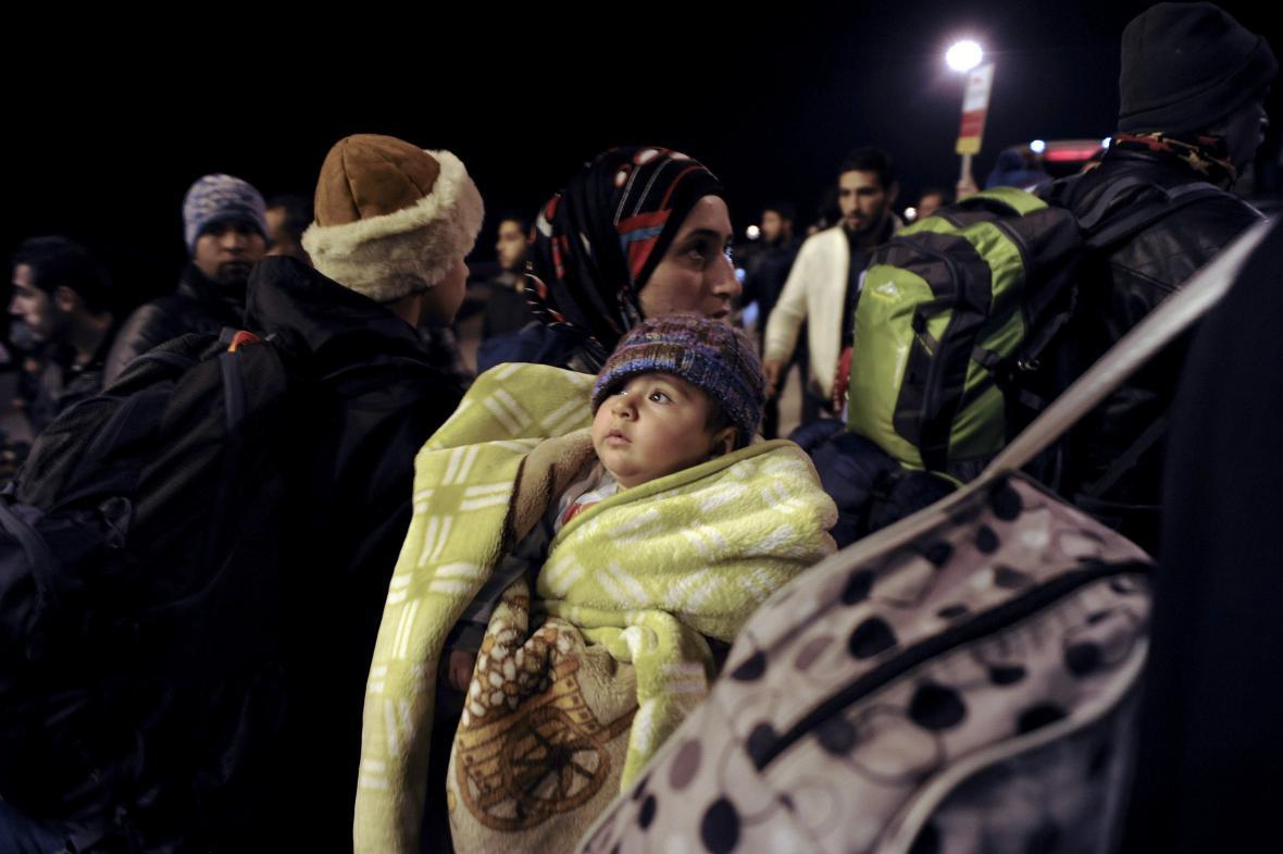 Uprchlíci na řeckých ostrovech