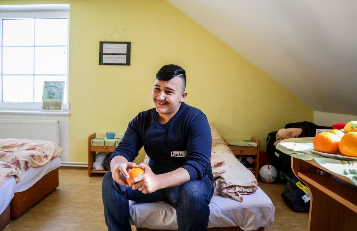 Iráčtí uprchlíci ve Smilovicích