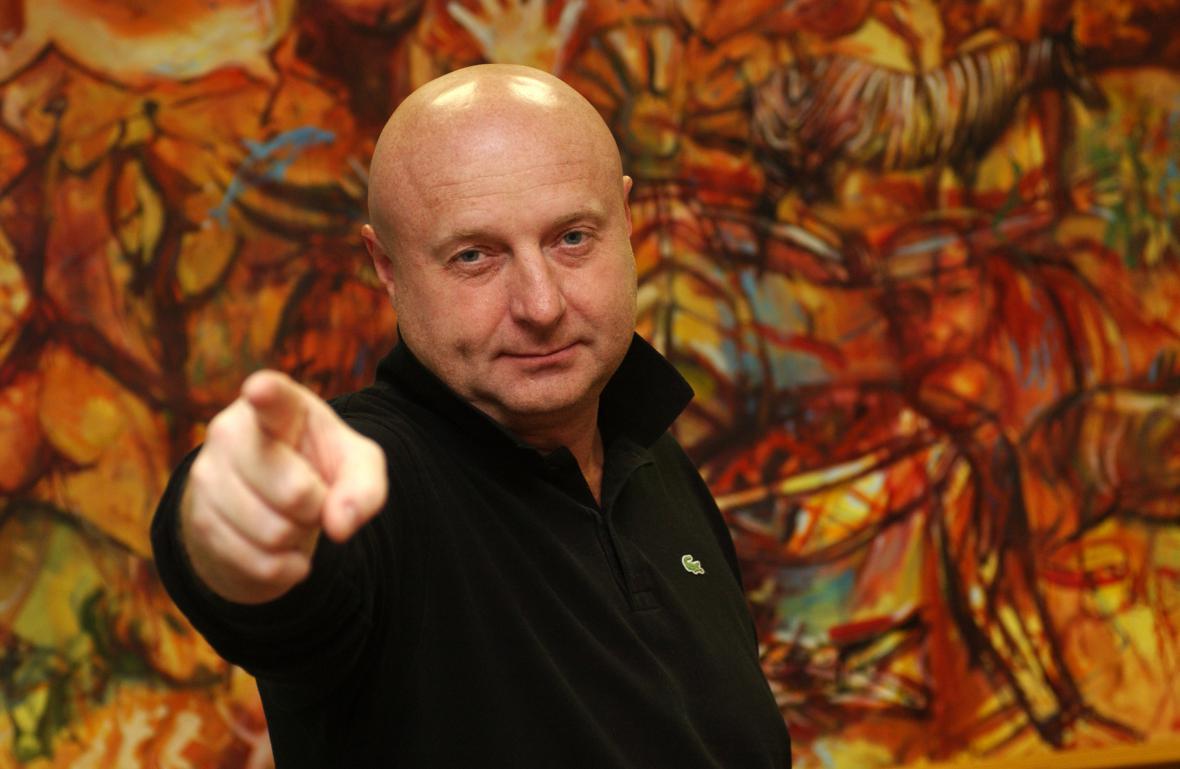 František Bušek na snímku z roku 2005