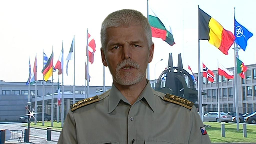 Generál Petr Pavel v OVM