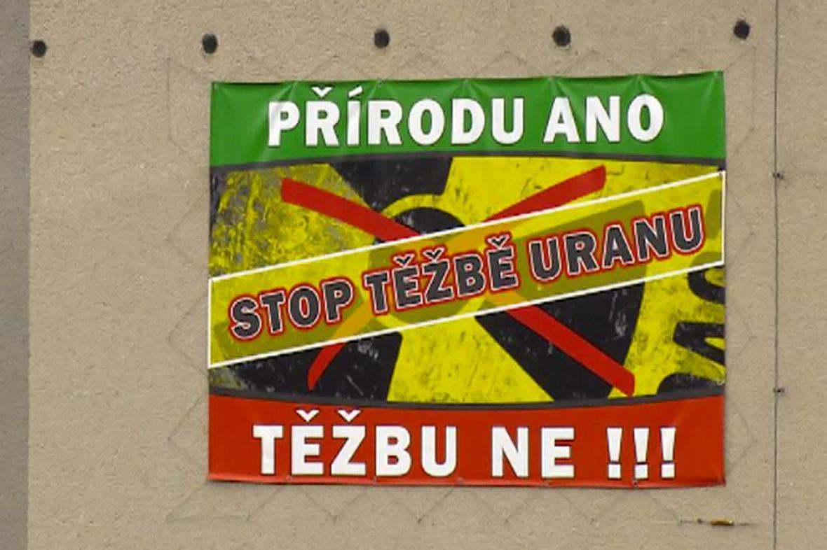 Brzkov protestuje proti plánované těžbě uranu