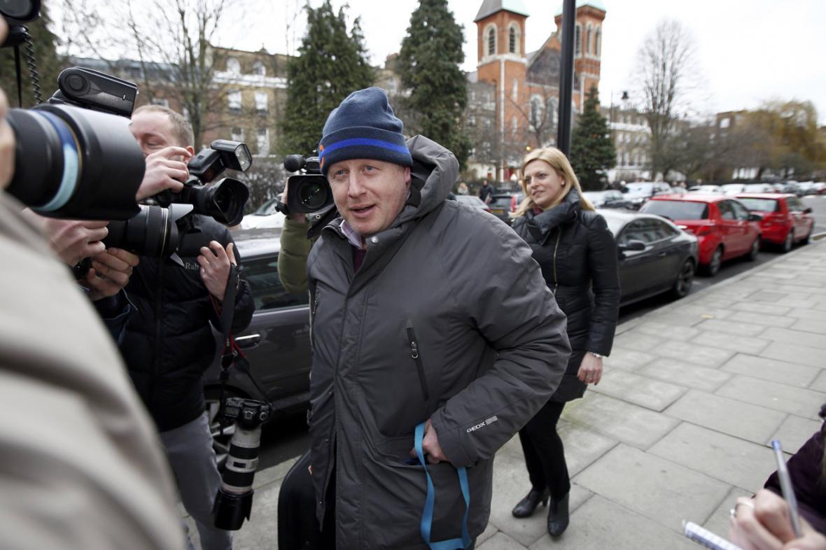 Londýnský starosta Boris Johnson podpořil vystoupení Británie z EU