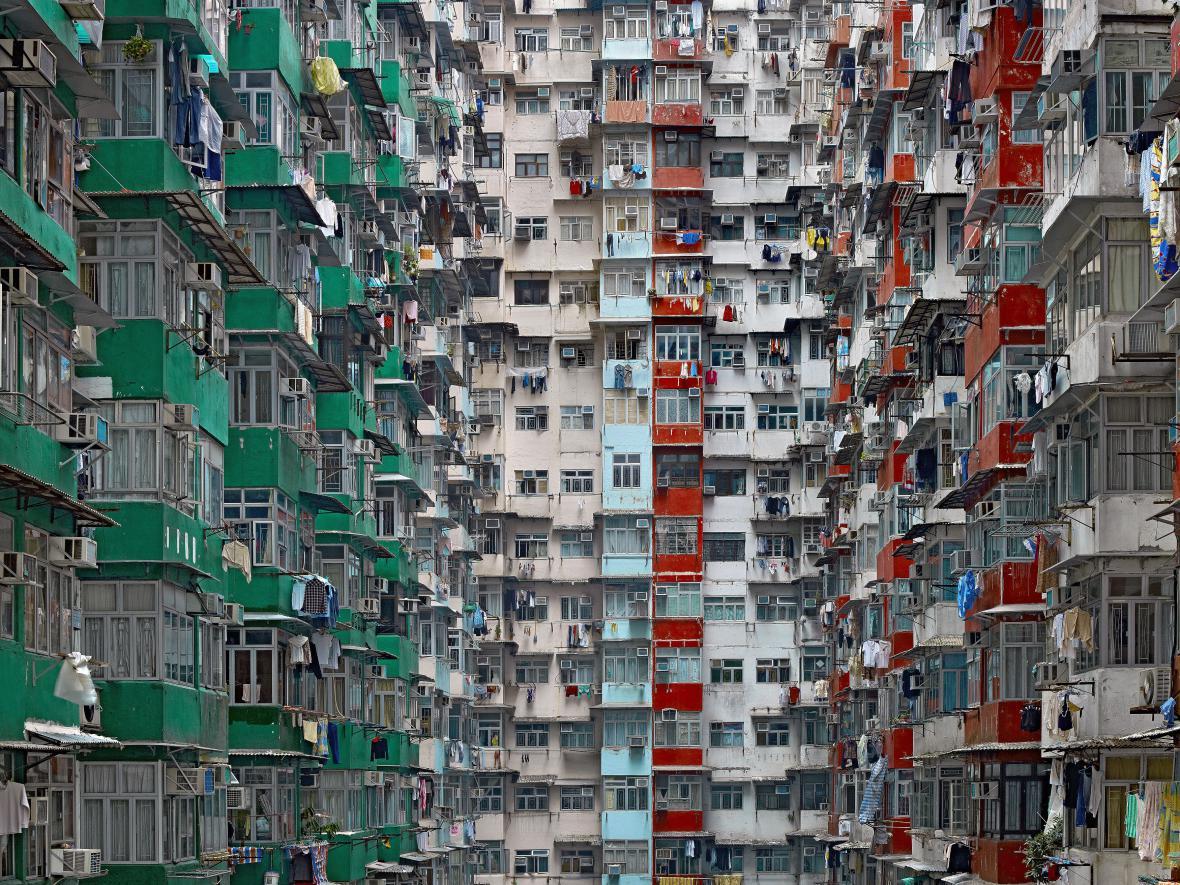 Michael Wolf / Z cyklu Architektura hustoty, 2012