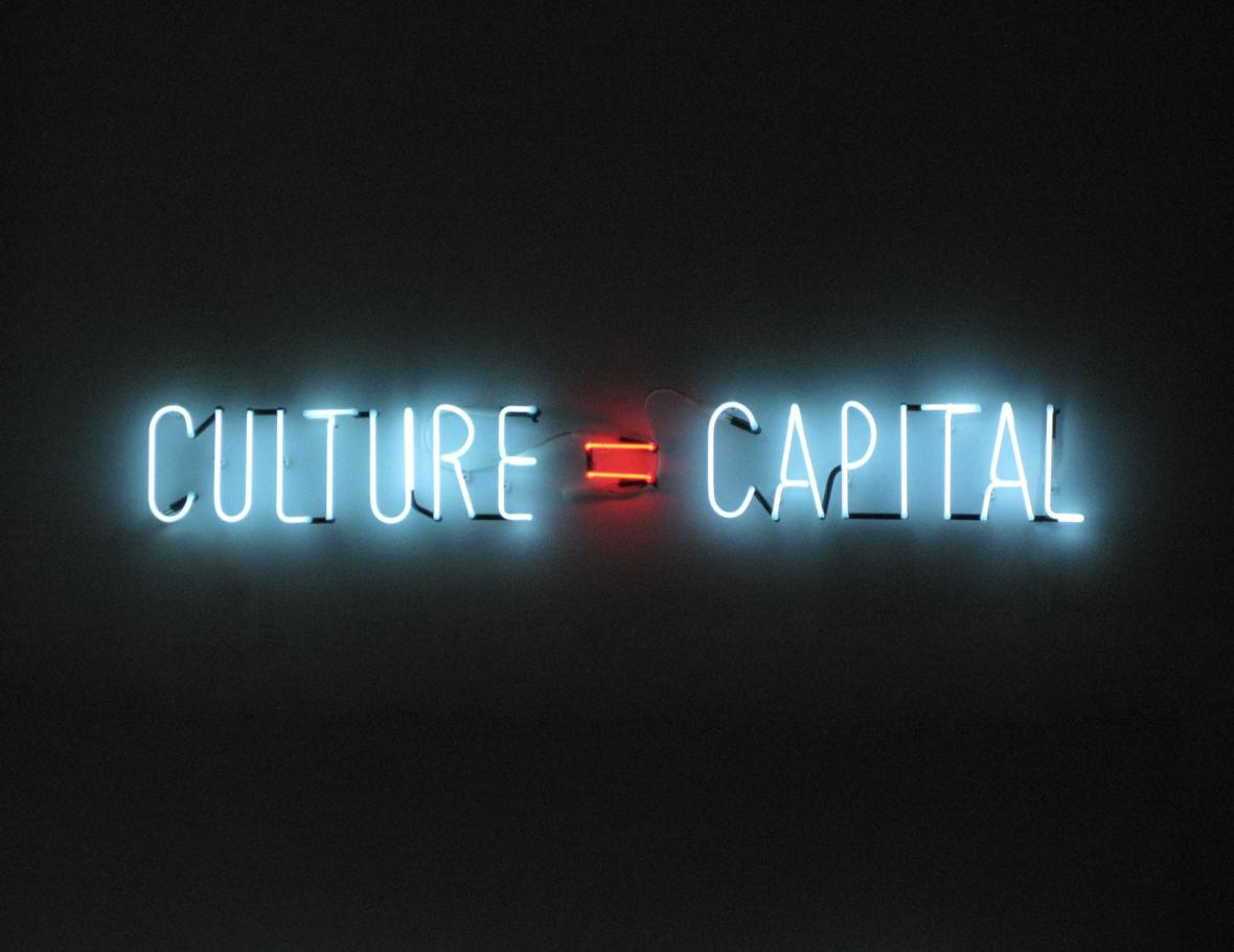 Alfredo Jaar / Kultura = Kapitál, 2010