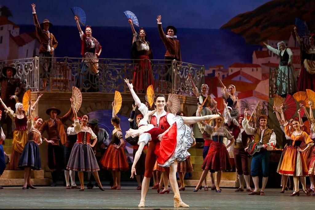 Balet Don Quijote v Bolšoj těatr