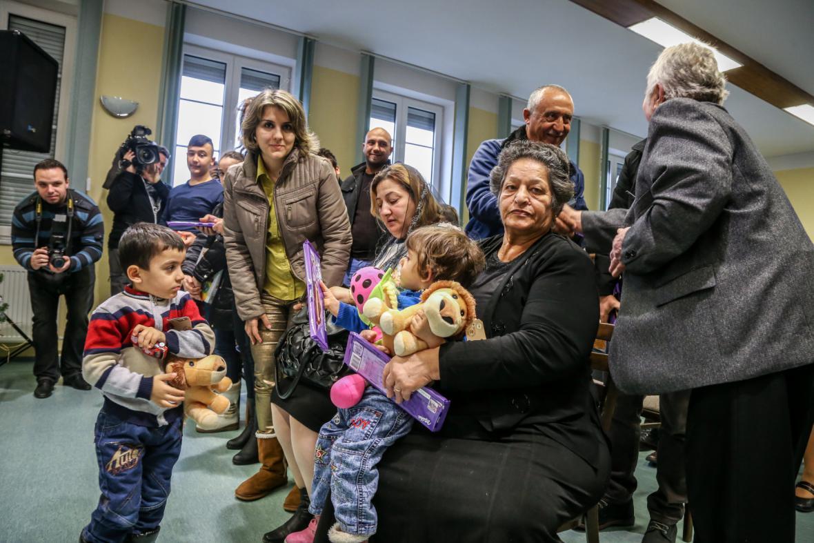 Česko-arabská bohoslužba ve Smilovicích