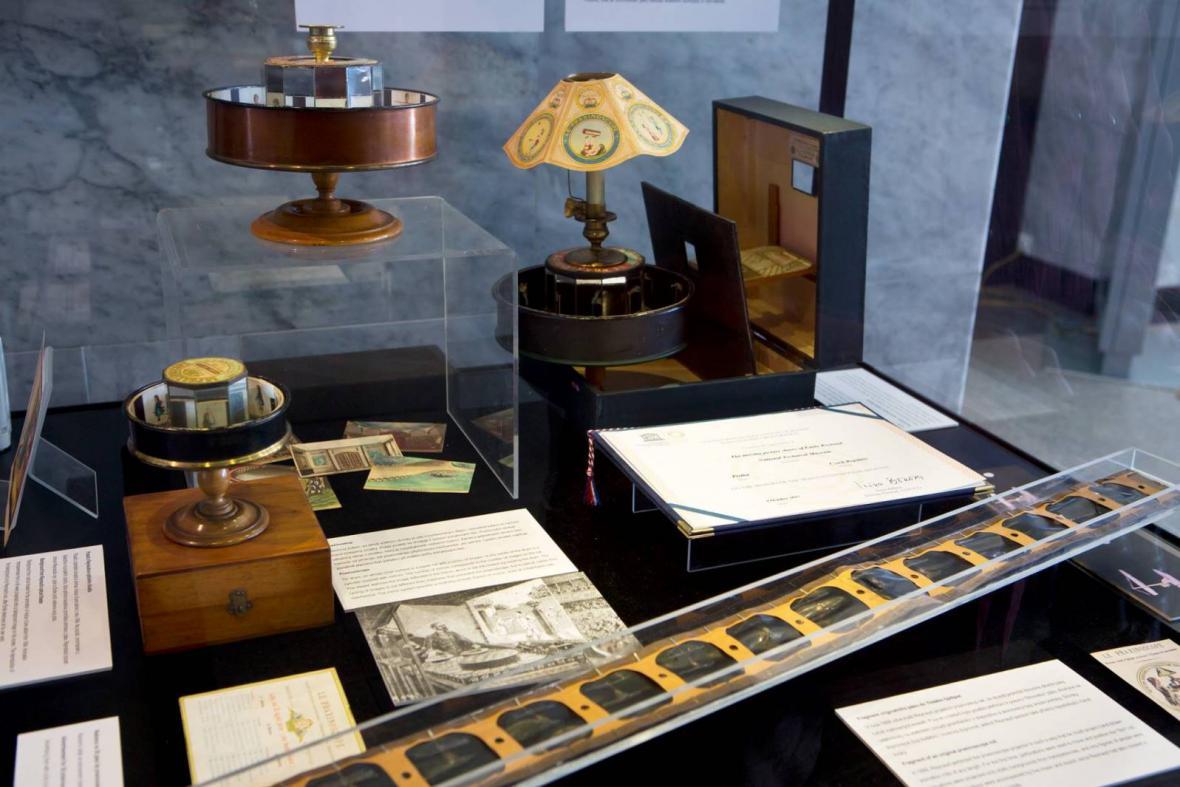Projekční pás Émila Reynauda v Národním technickém muzeu
