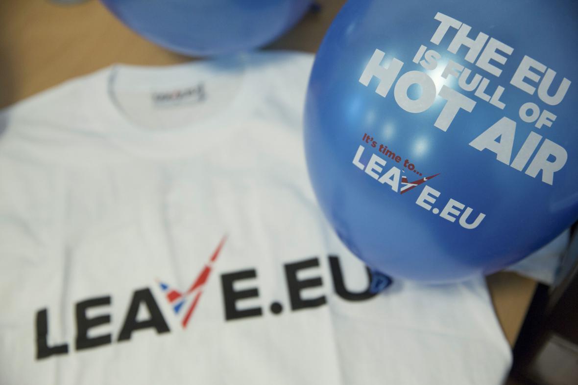 Kampaň zastánců brexitu Leave.EU