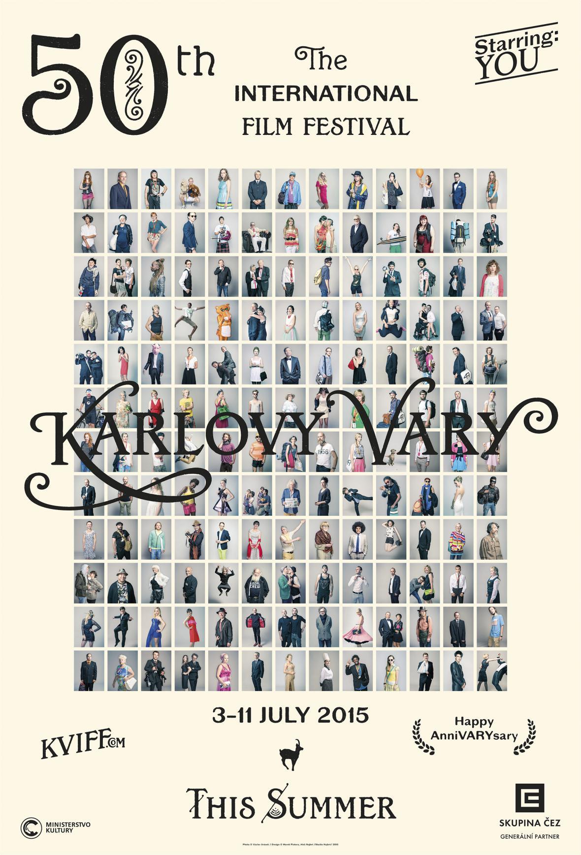 Václav Jirásek / Fotografie pro kampaň 50. ročníku Mezinárodního filmového festivalu Karlovy Vary