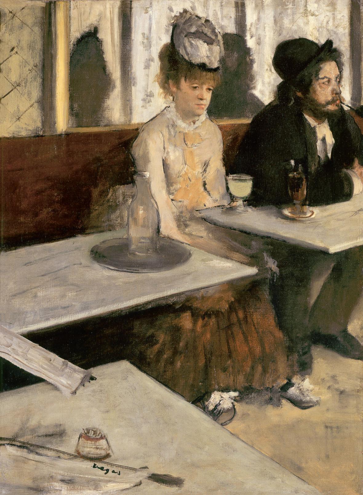 Edgar Degas / Absinth