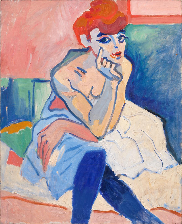André Derain / Žena v košilce aneb Tanečnice