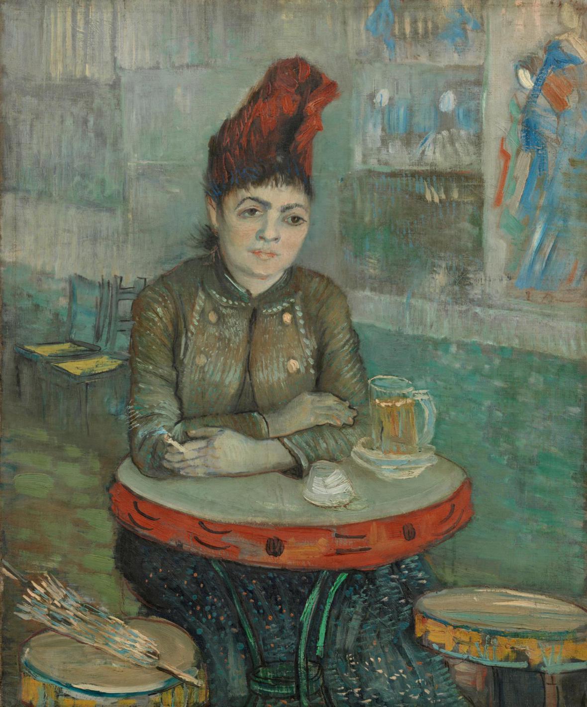 Vincent van Gogh / Agostina Segatori v kavárně Tambourin