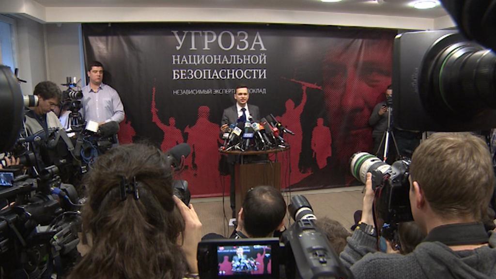 Tisková konference Ilji Jašina