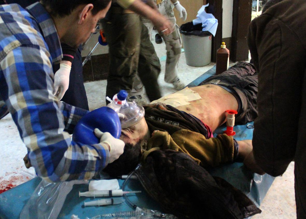 Zranění v Sýrii