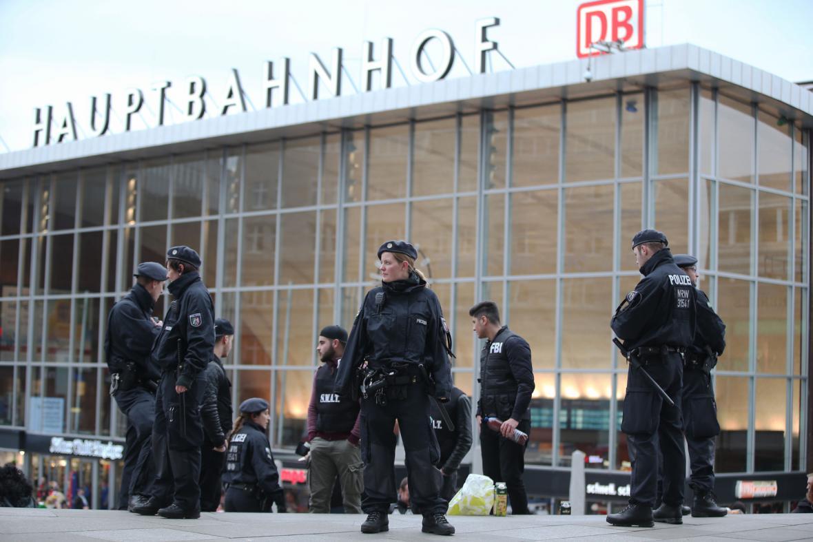 Policie v Kolíně nad Rýnem