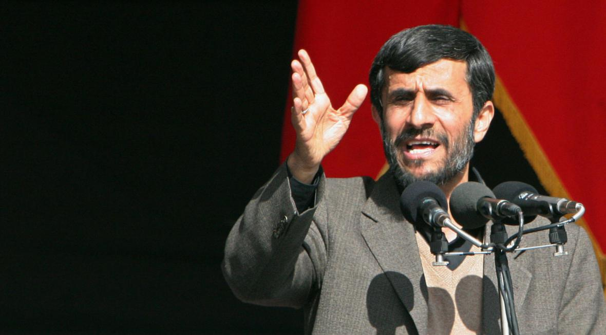 Bývalý íránský prezident Mahmúd Ahmadínežád