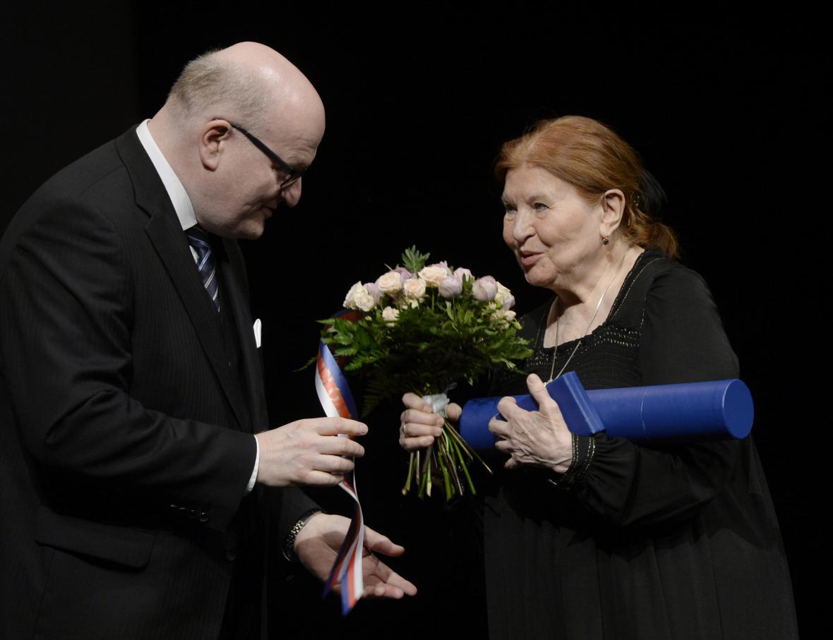 Daniel Herman a Marie Tomášová