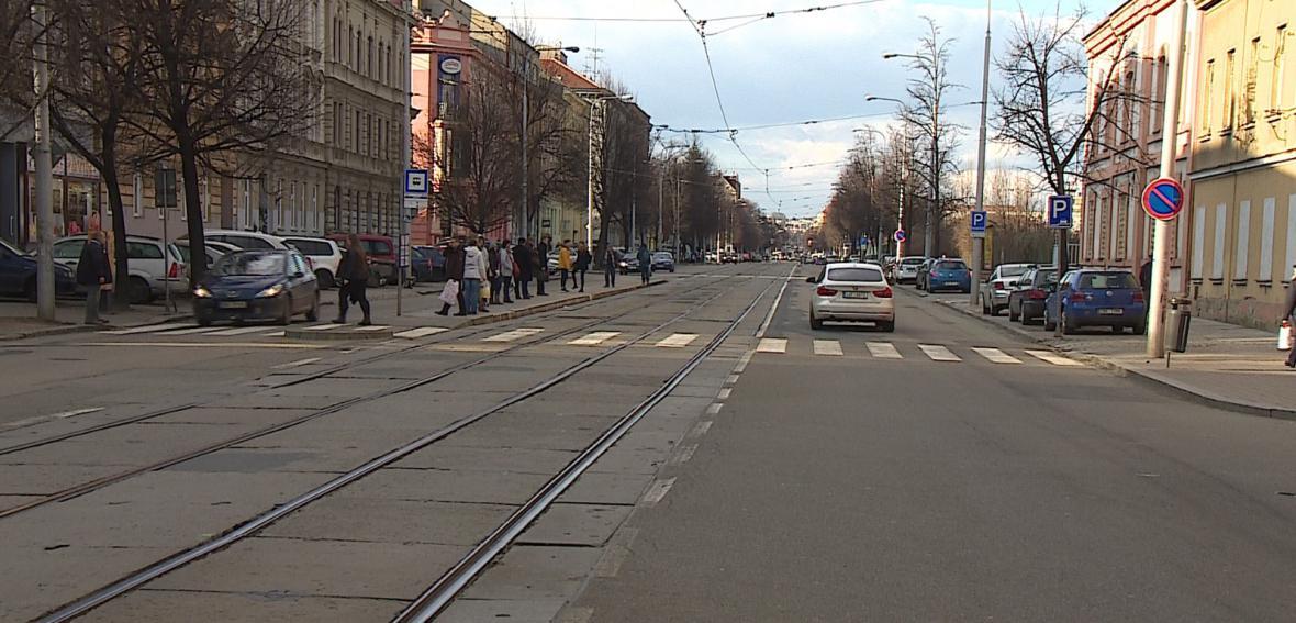Ulice Štefánikova se v budoucnu změní v městský bulvár