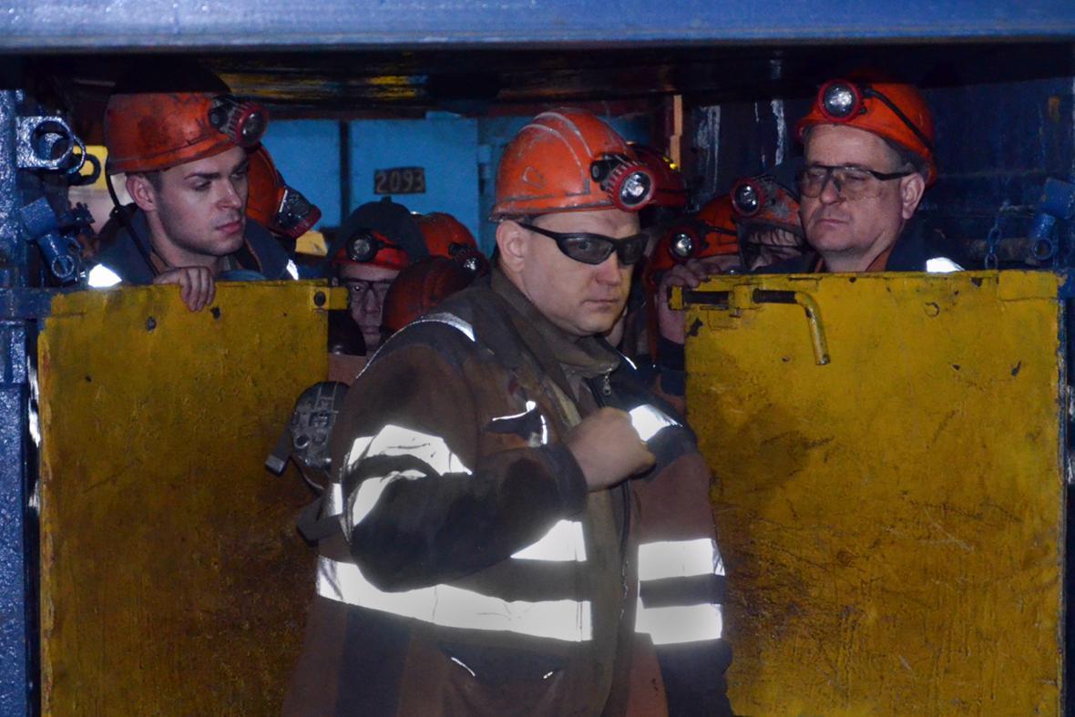 Neštěstí v uhelném dole Severnaja v severoruské Vorkutě