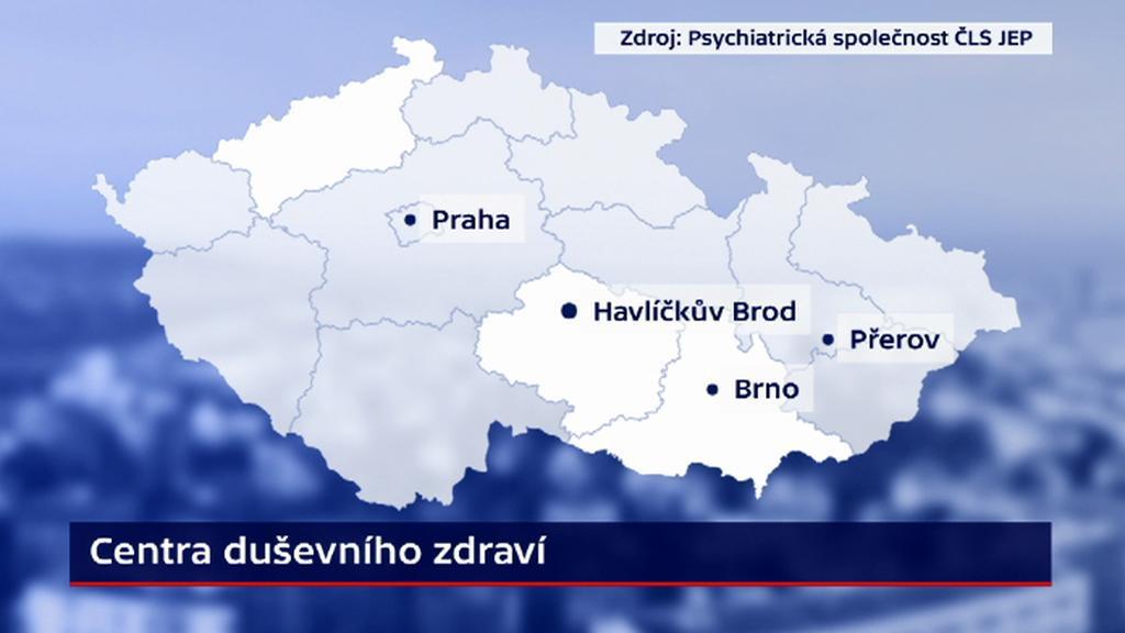 Centra duševního zdraví v ČR