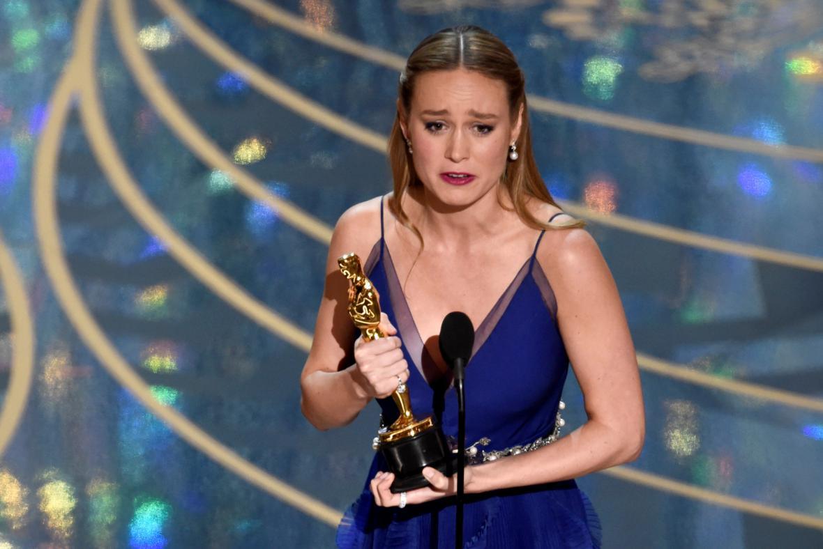 Nejlepší herečkou se stala Brie Larsonová z filmu Room