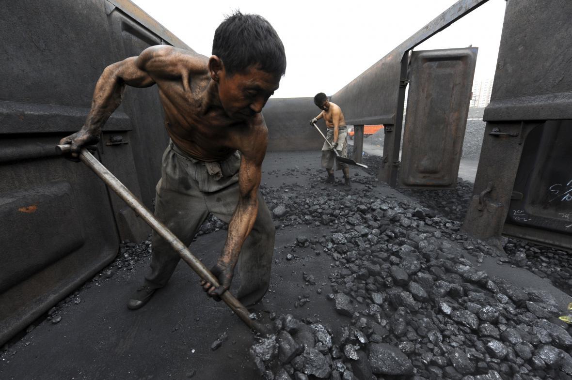 čínské uhlí
