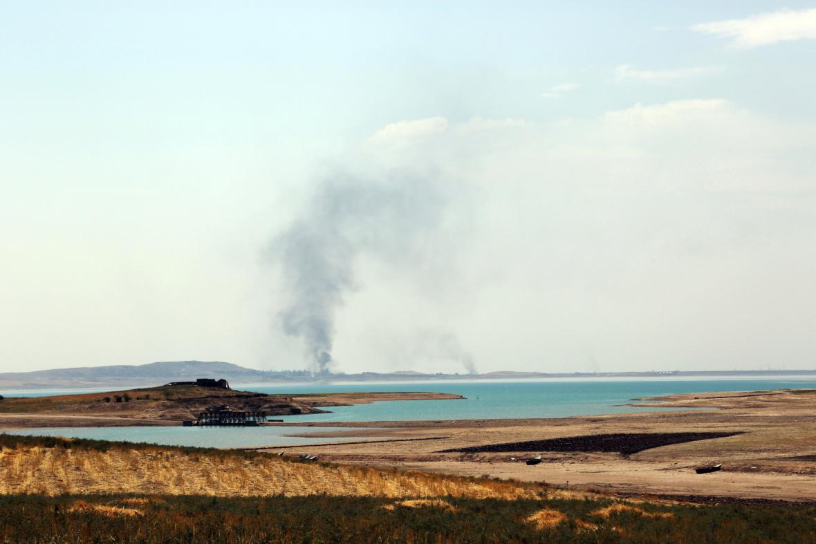 Boje u přehrady v Mosulu