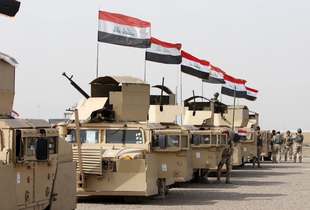 Přípravy na ofenzivu u Mosulu