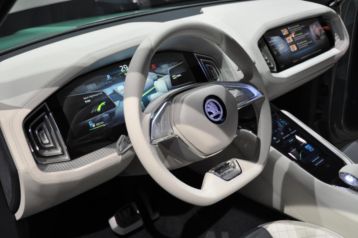 Hlavní novinka Škody v Ženevě - Koncept SUV VisionS