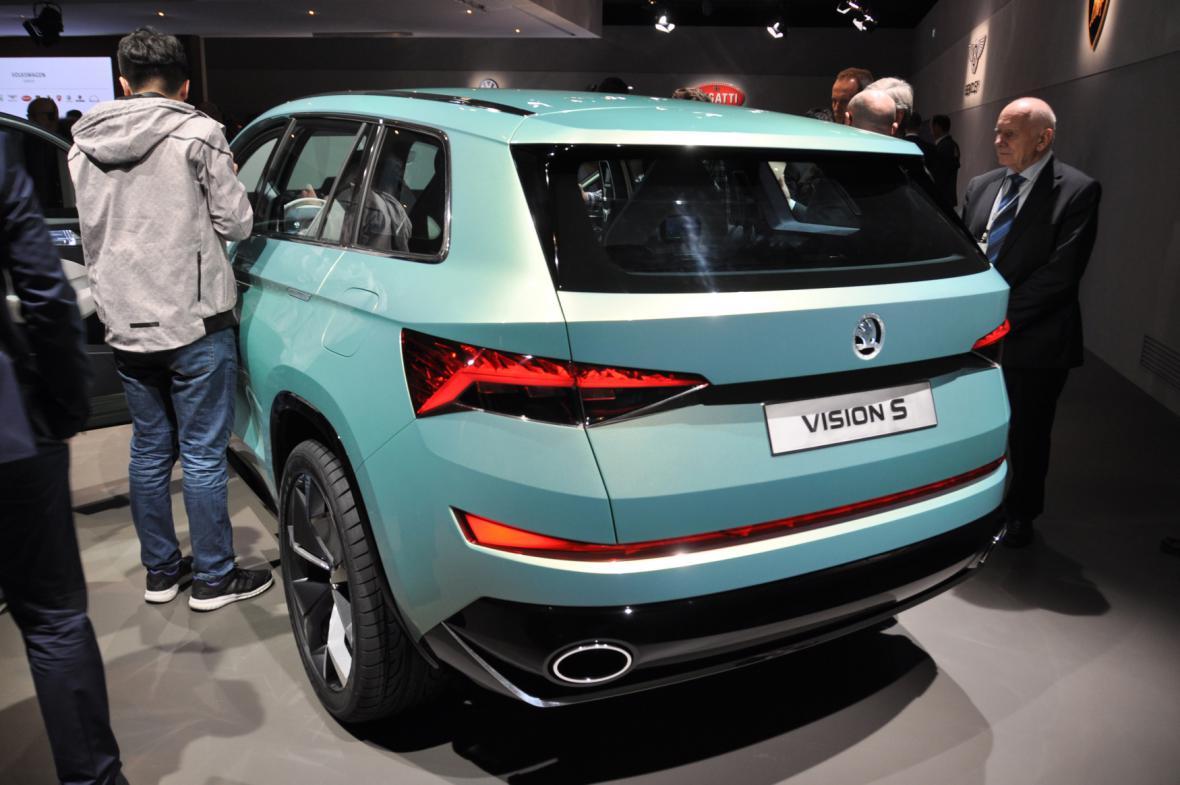 Škoda v Ženevě: koncept SUV VisionS