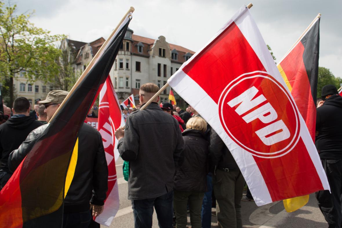 Krajně pravicová NPD v Německu