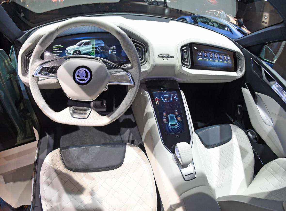 Interiér konceptu SUV VisionS