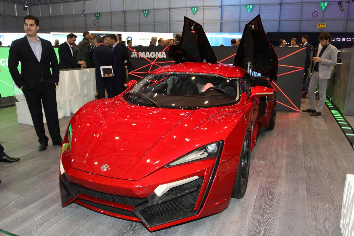 Lykan Hypersport od W Motors
