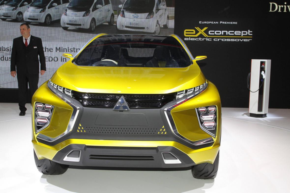 Koncept auta Mitsubishi eX
