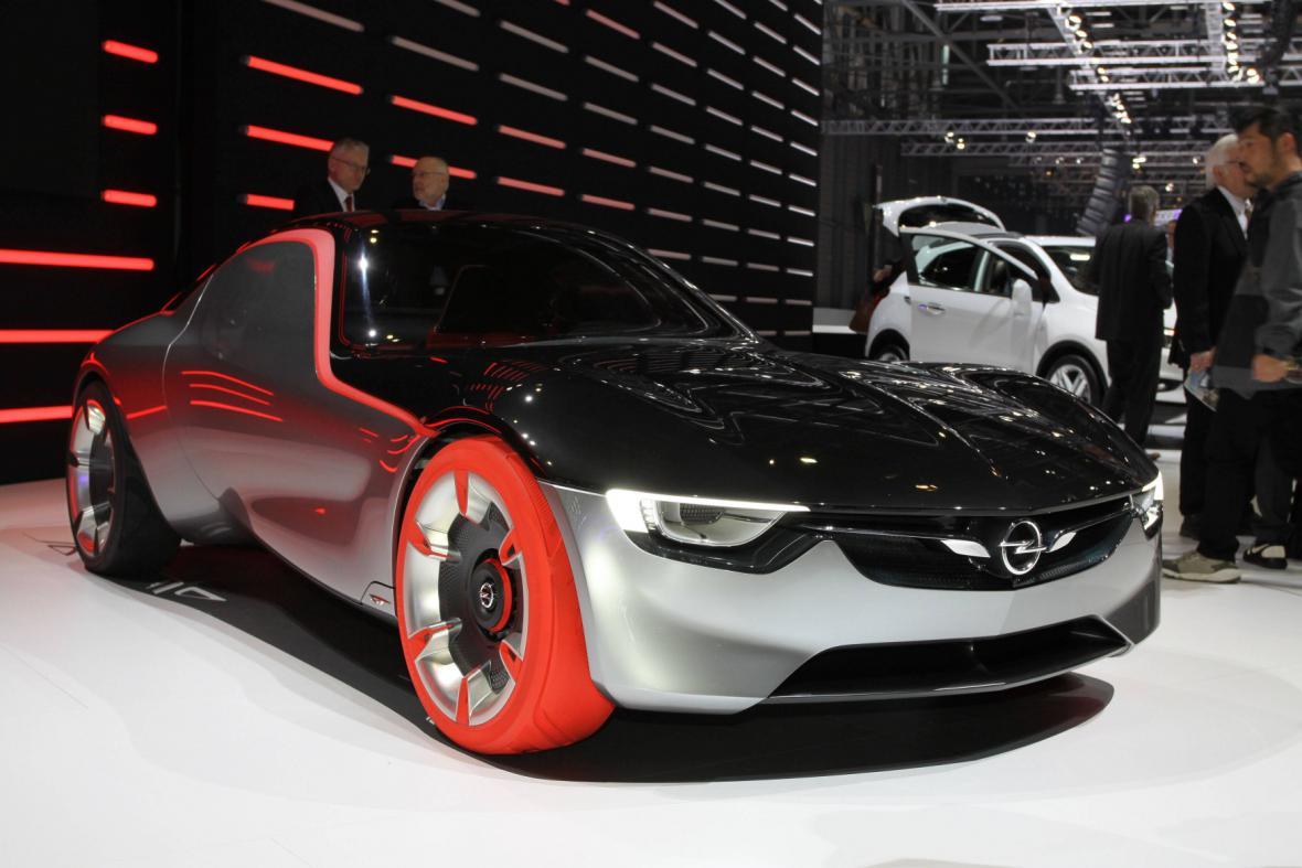 Koncept vozu Opel GT